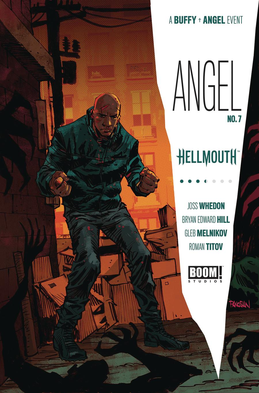Angel Vol 4 #7 Cover A Regular Dan Panosian Cover (Hellmouth Tie-In)