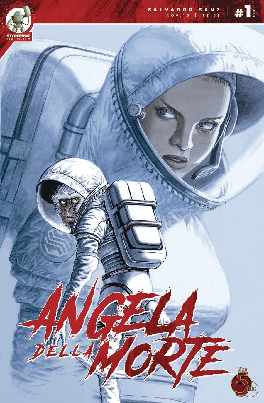 Angela Della Morte #1 Cover A Regular Salvador Sanz Cover
