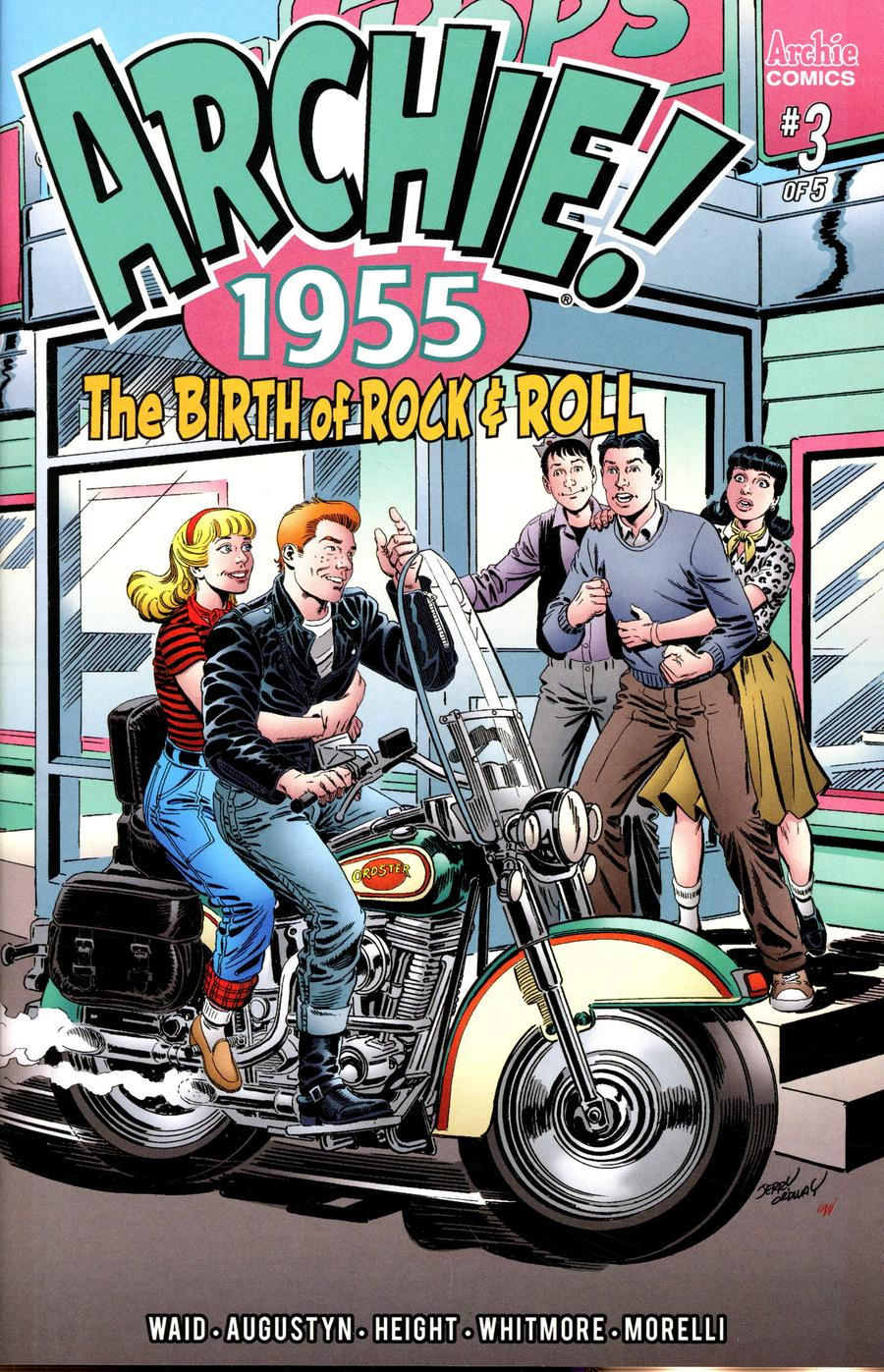 Archie 1955 #3 Cover B Variant Jerry Ordway & Glenn Whitmore Cover