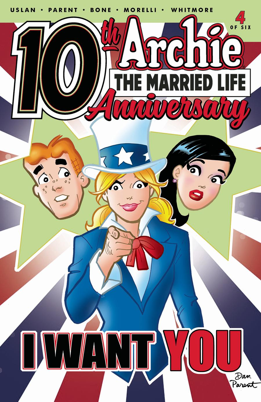 Archie The Married Life 10th Anniversary #4 Cover A Regular Dan Parent Cover