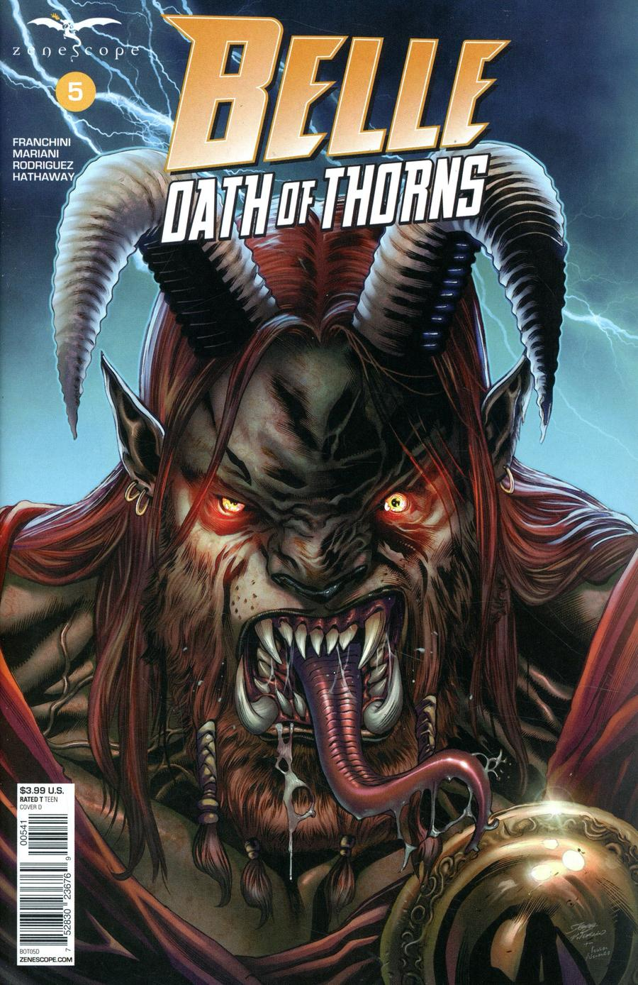 Grimm Fairy Tales Presents Belle Oath Of Thorns #5 Cover D Igor Vitorino