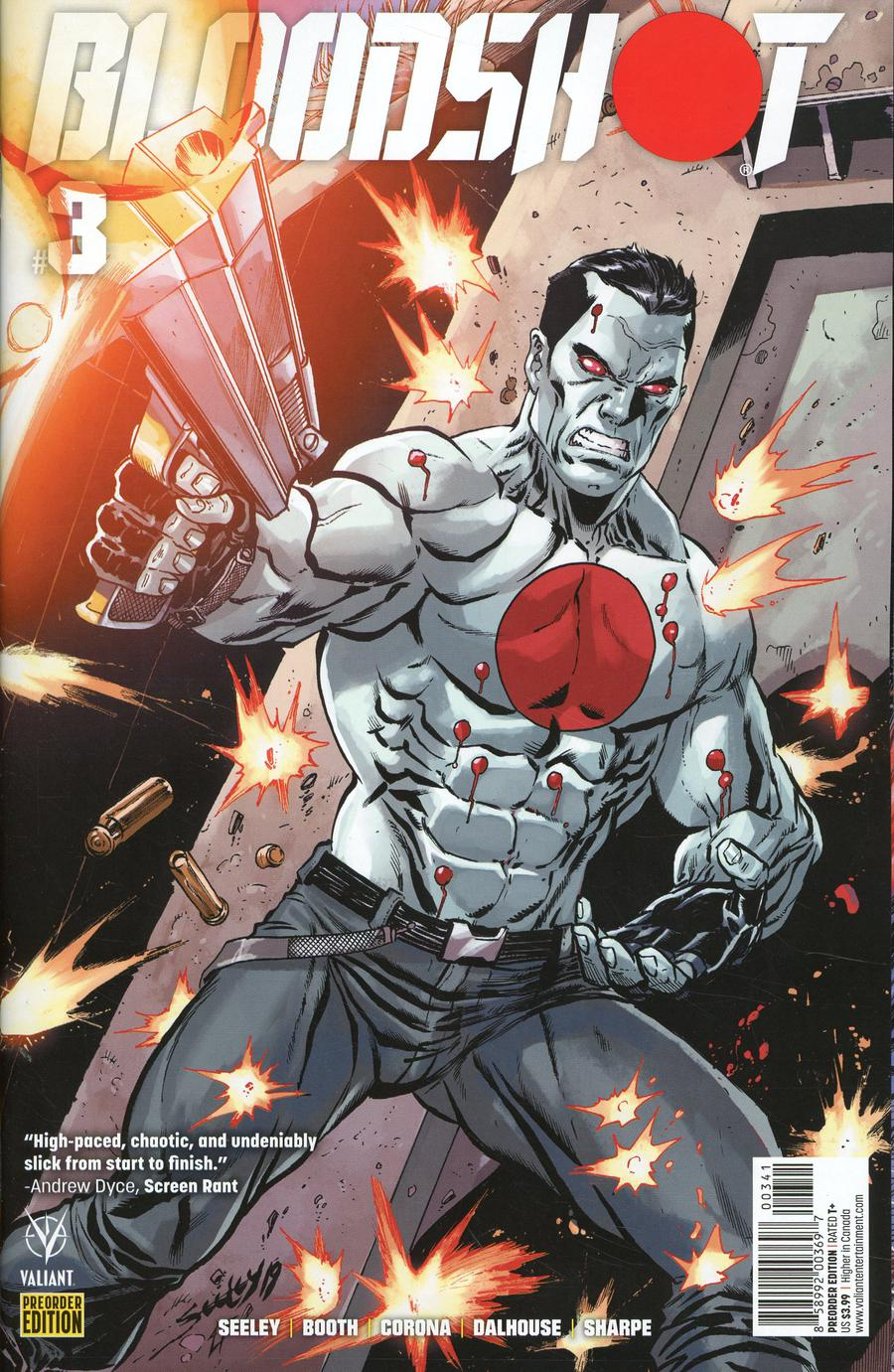 Bloodshot Vol 4 #3 Cover D Variant Pre-Order Edition