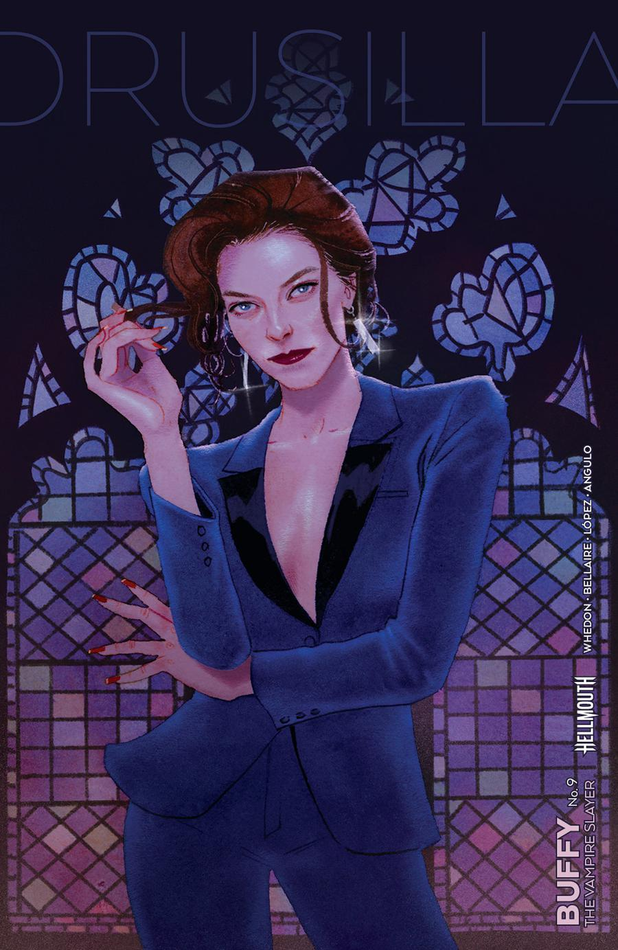Buffy The Vampire Slayer Vol 2 #9 Cover B Variant Kevin Wada Cover (Hellmouth Tie-In)