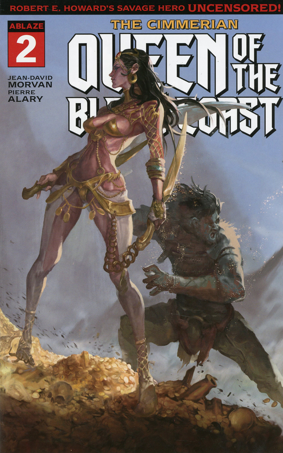 Cimmerian Queen Of The Black Coast #2 Cover A Regular Sunghan Yune Cover