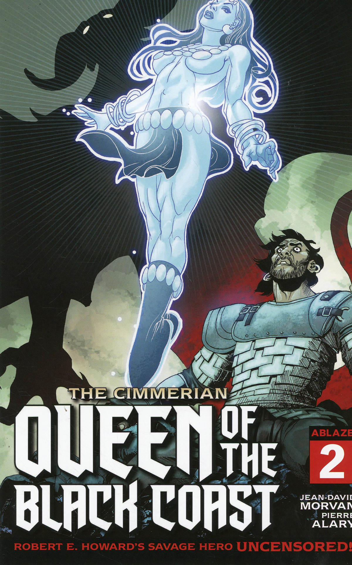Cimmerian Queen Of The Black Coast #2 Cover B Variant ChrisCross Cover