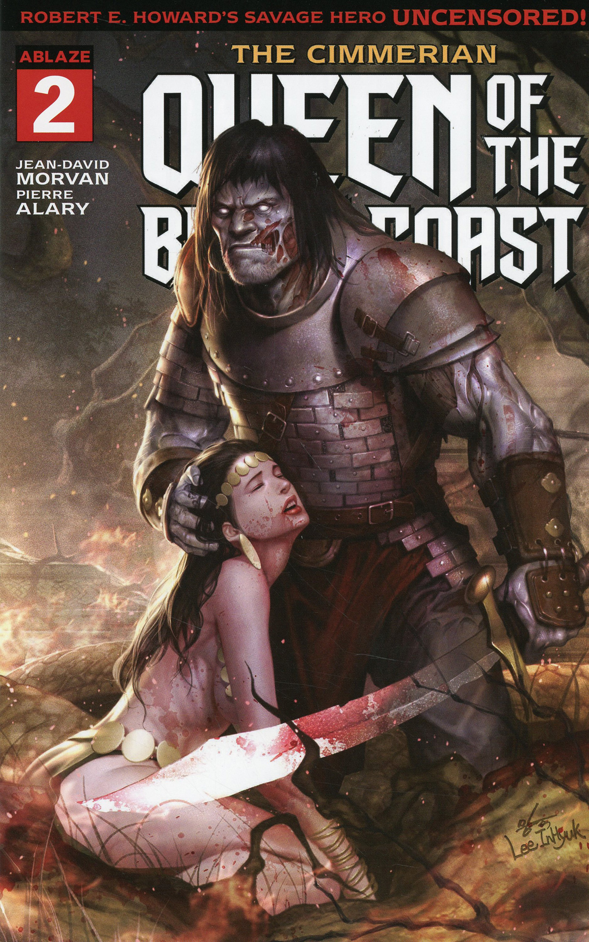 Cimmerian Queen Of The Black Coast #2 Cover D Variant InHyuk Lee Cover