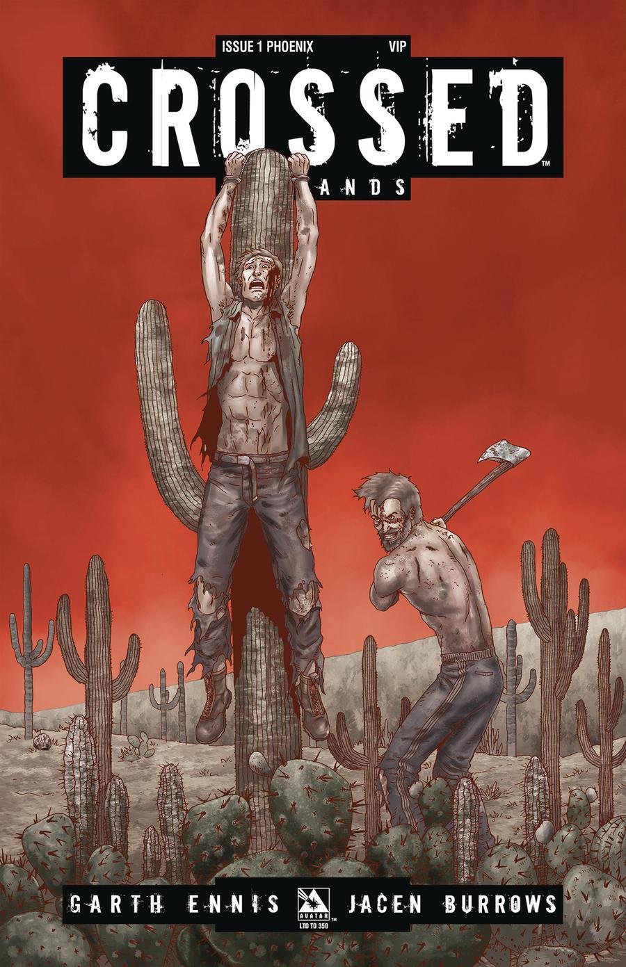 Crossed Badlands #1 Cover Q Phoenix VIP Cover