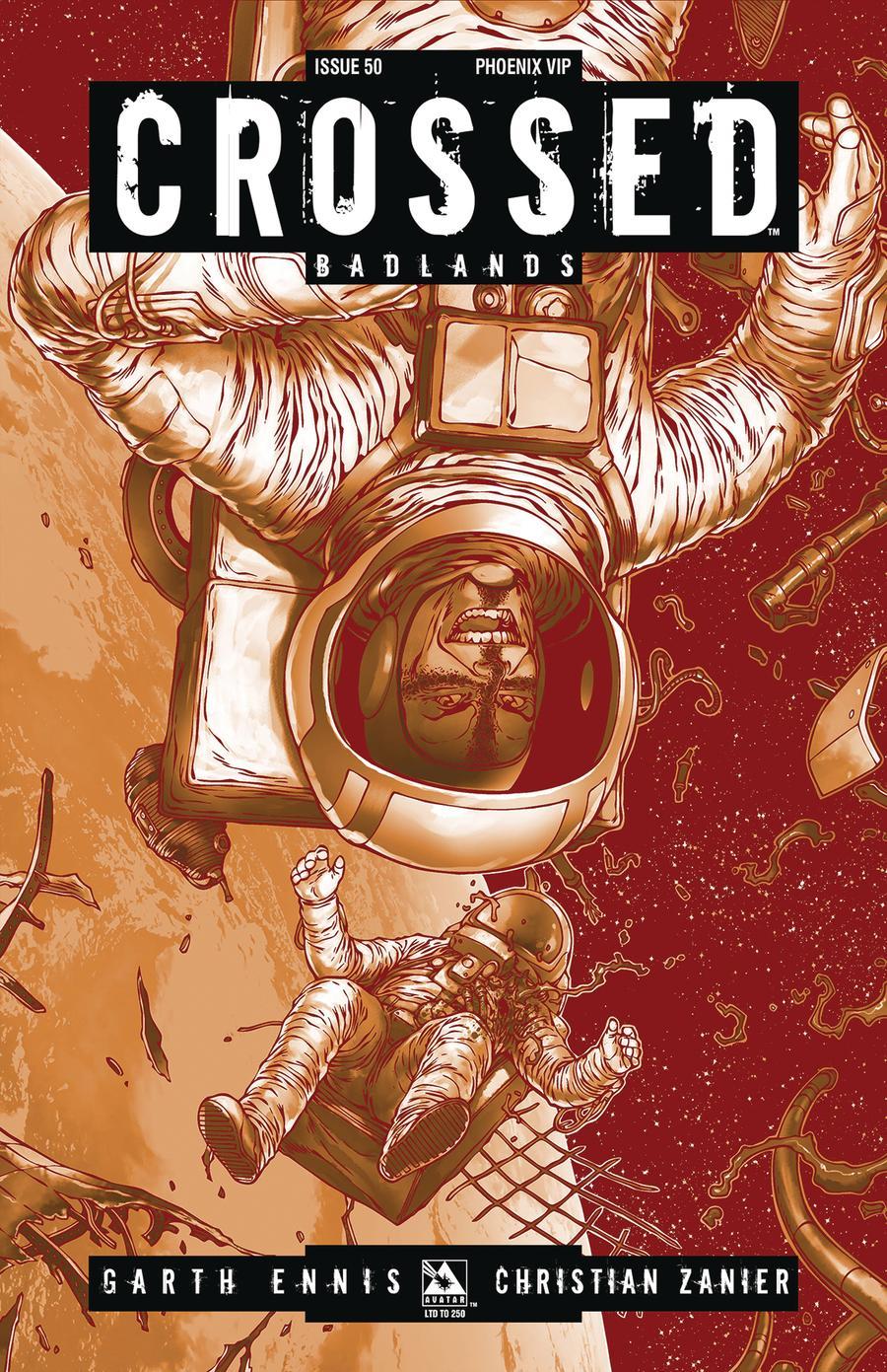 Crossed Badlands #50 Cover X Phoenix VIP Cover