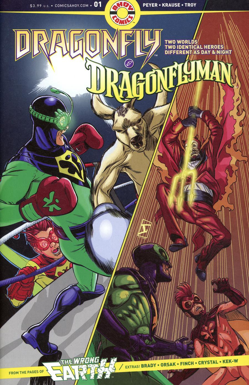 Dragonfly And Dragonflyman #1