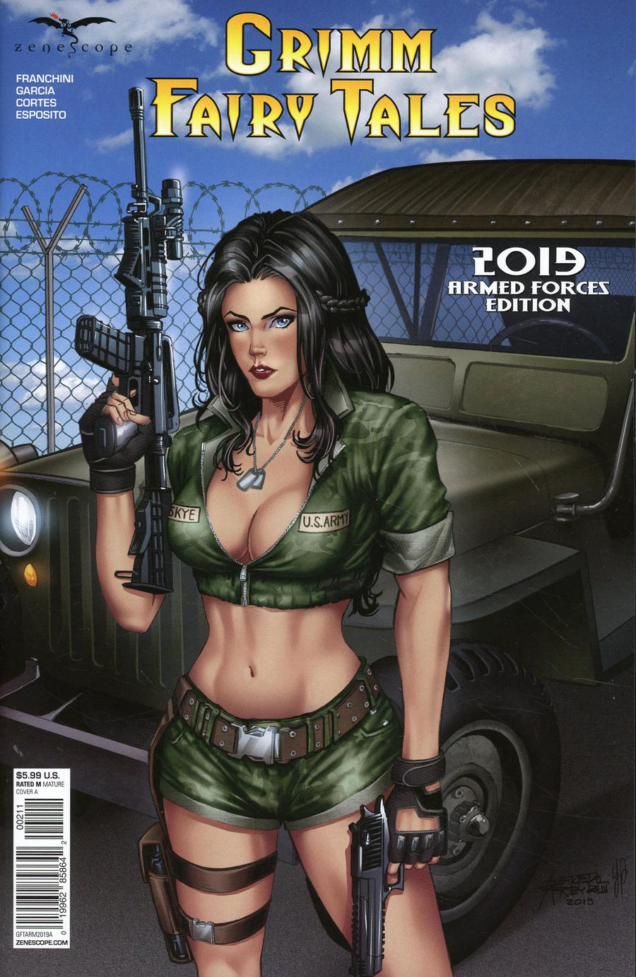 Grimm Fairy Tales 2019 Armed Forces Appreciation Cover A Alfredo Reyes