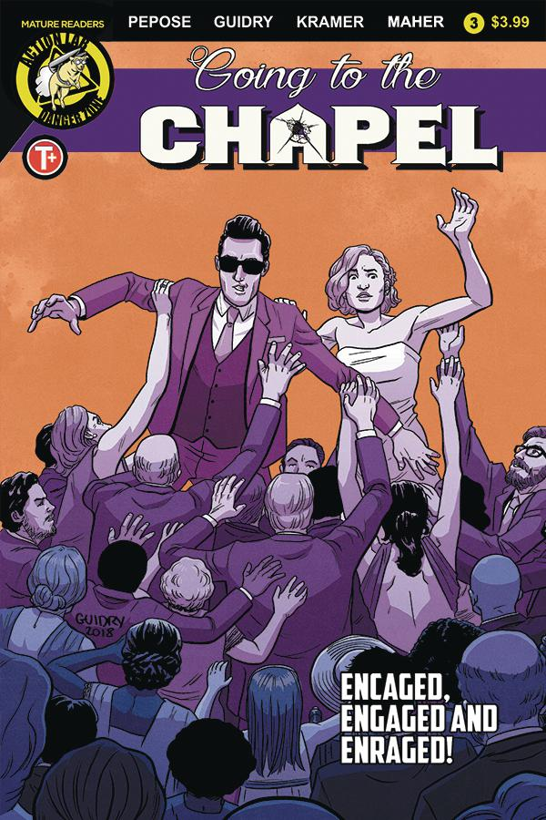 Going To The Chapel #3 Cover C Variant Gavin Guidry Cover