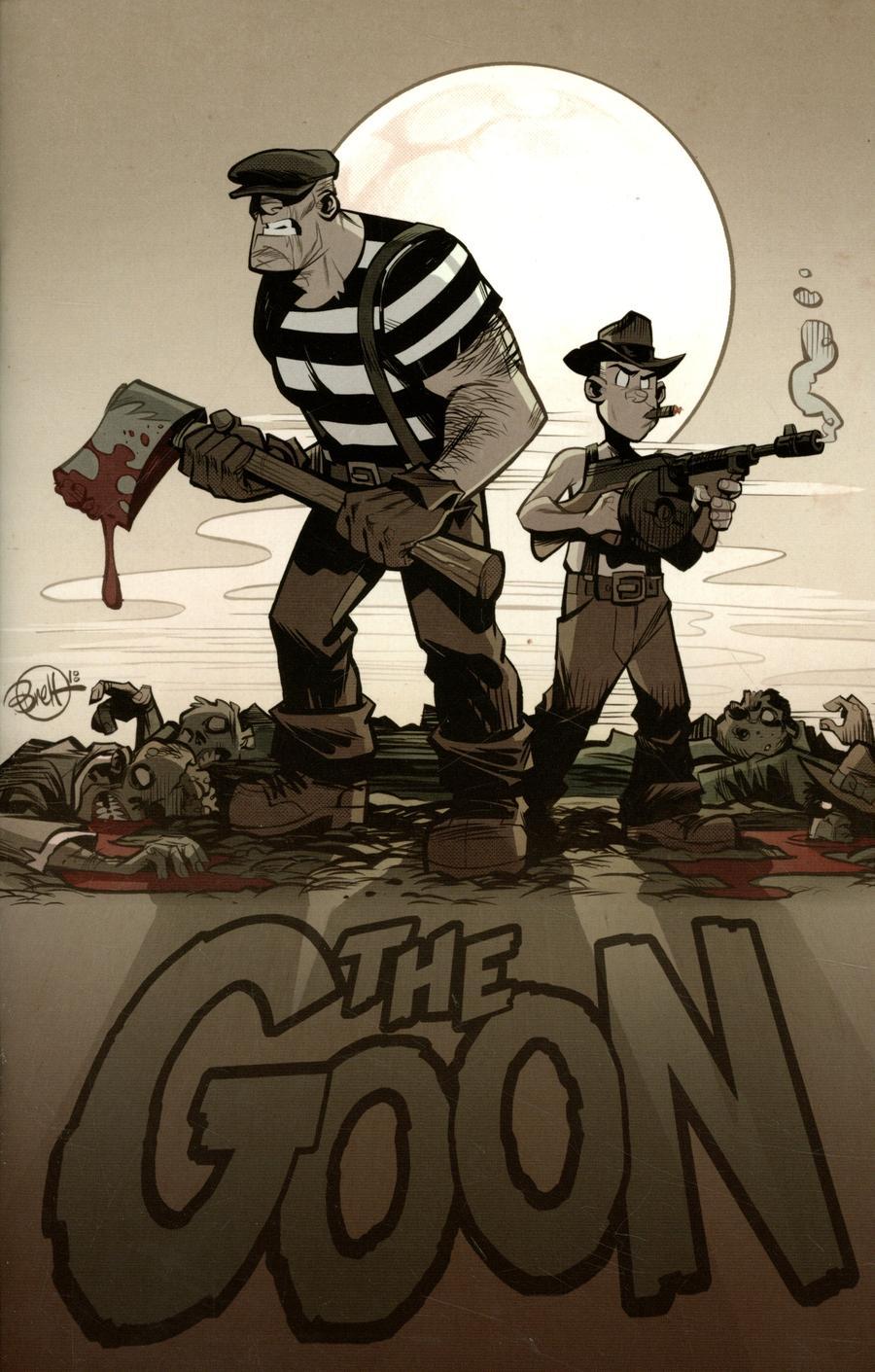 Goon Vol 4 #8 Cover B Variant Brett Parson Cardstock Cover