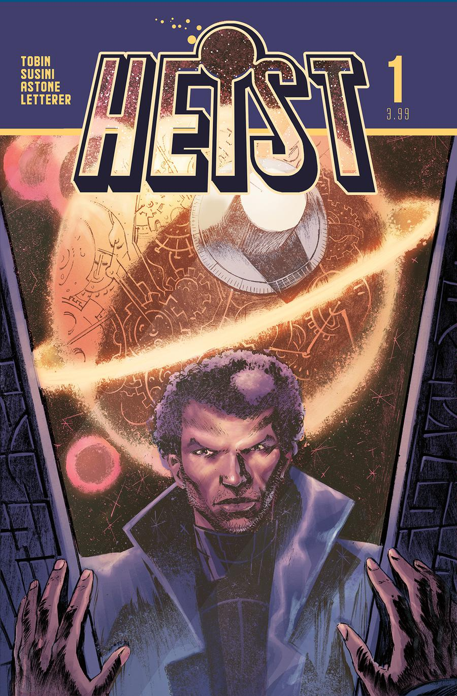 Heist Or How To Steal A Planet #1 Cover A Regular Arjuna Susini Cover