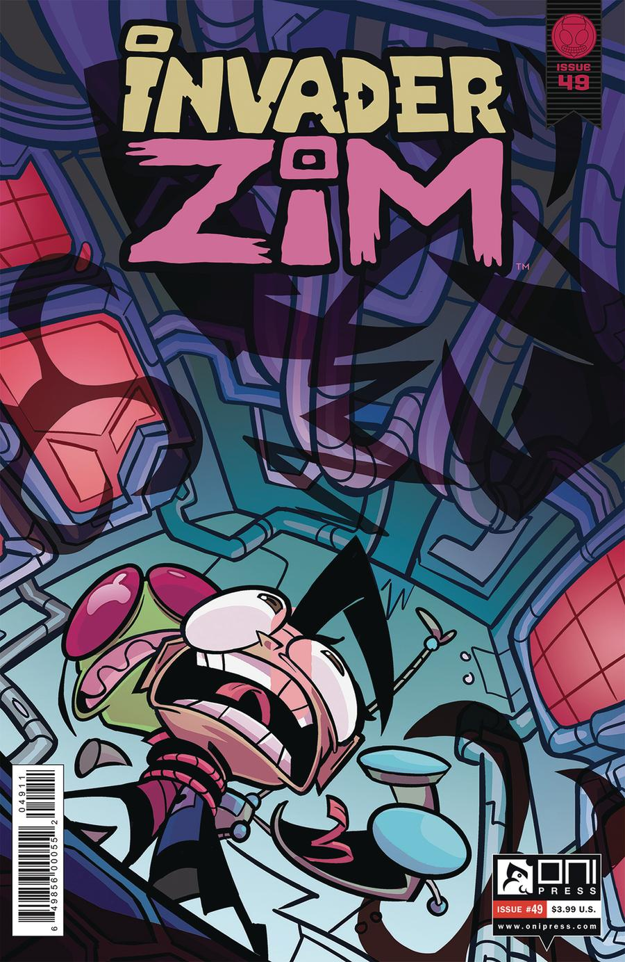 Invader Zim #49 Cover A Regular Maddie C Cover