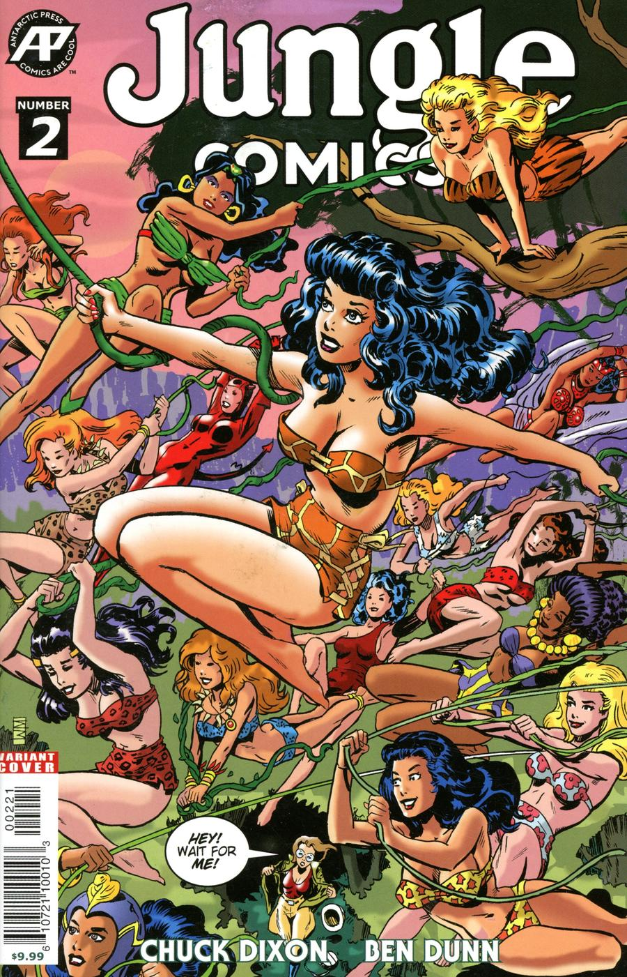 Jungle Comics Vol 3 #2 Cover B Variant Will Meugniot Cover