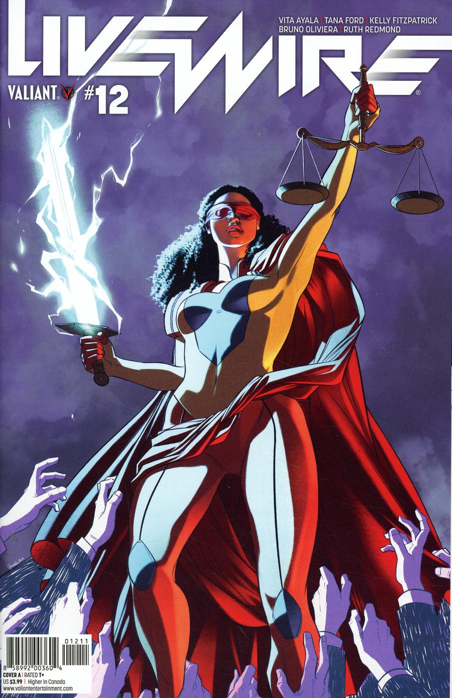 Livewire #12 Cover A Regular Stacey Lee Cover