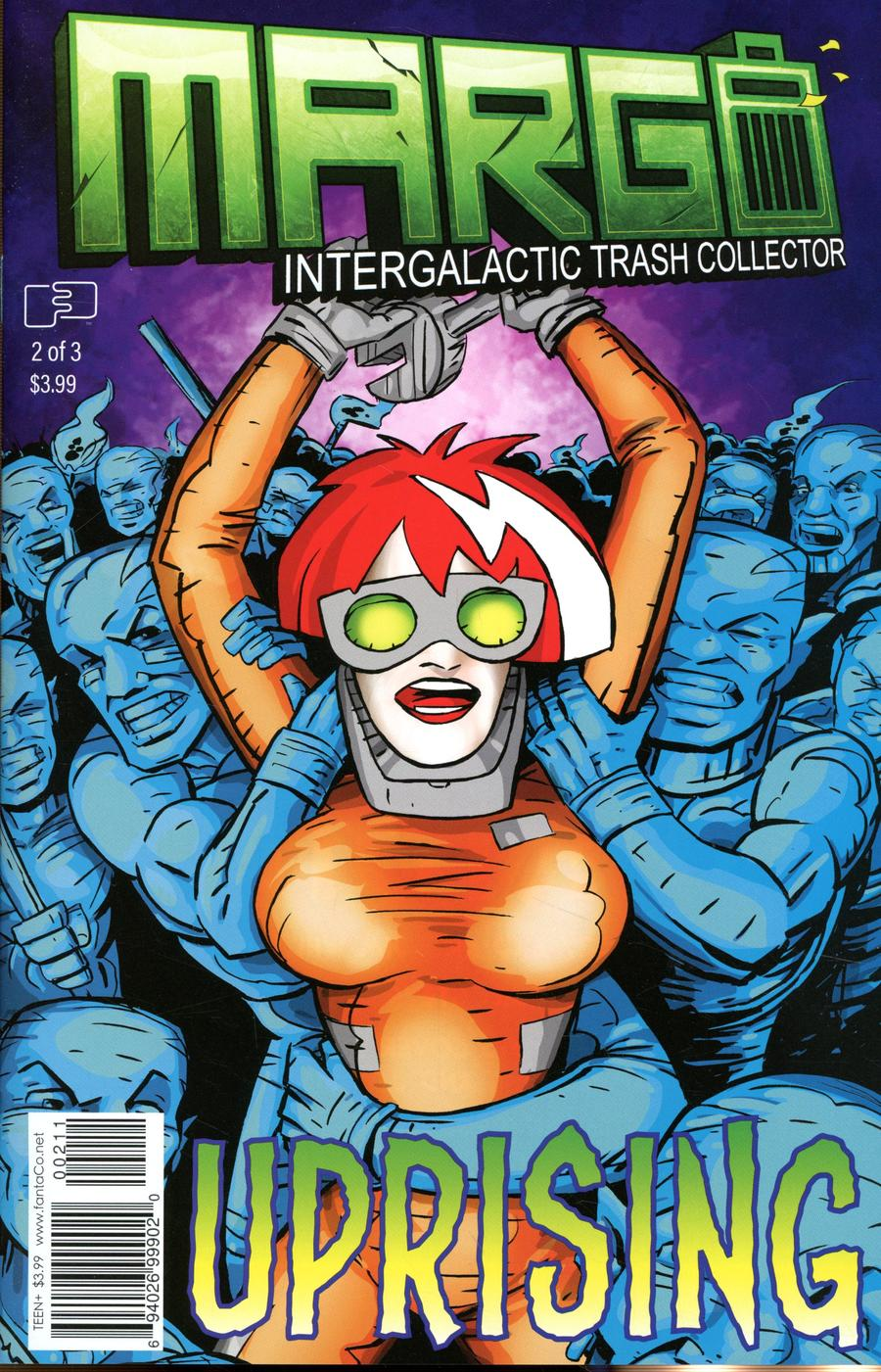 Margo Intergalactic Trash Collector #2 Cover A Regular Jim Whiting Cover