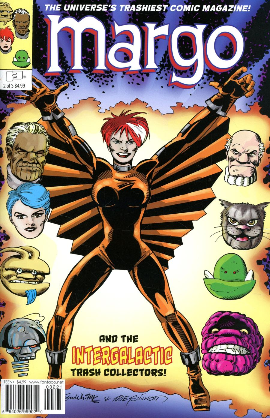 Margo Intergalactic Trash Collector #2 Cover B Variant Joe Sinnott Cover