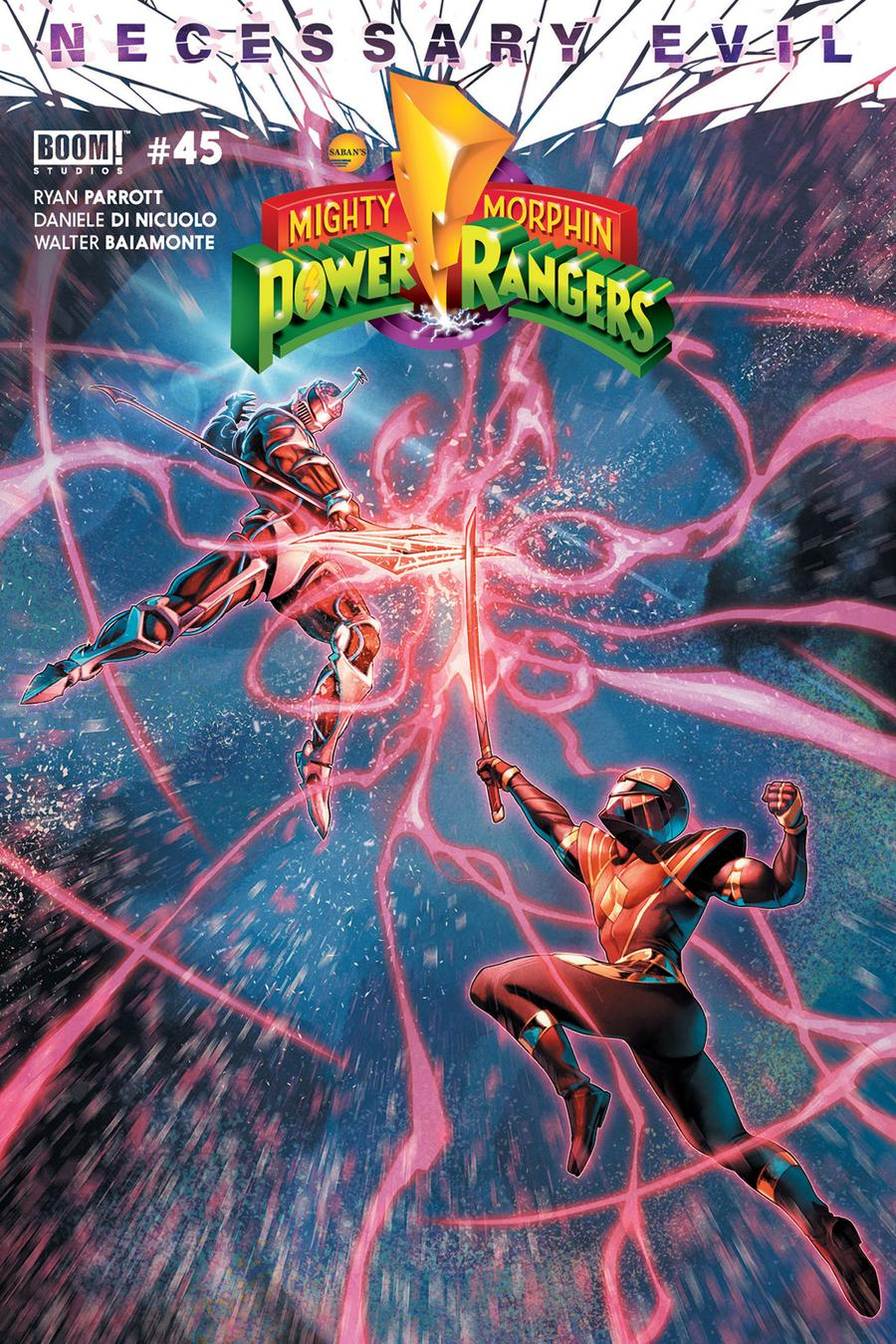 Mighty Morphin Power Rangers (BOOM Studios) #45 Cover A Regular Jamal Campbell Cover