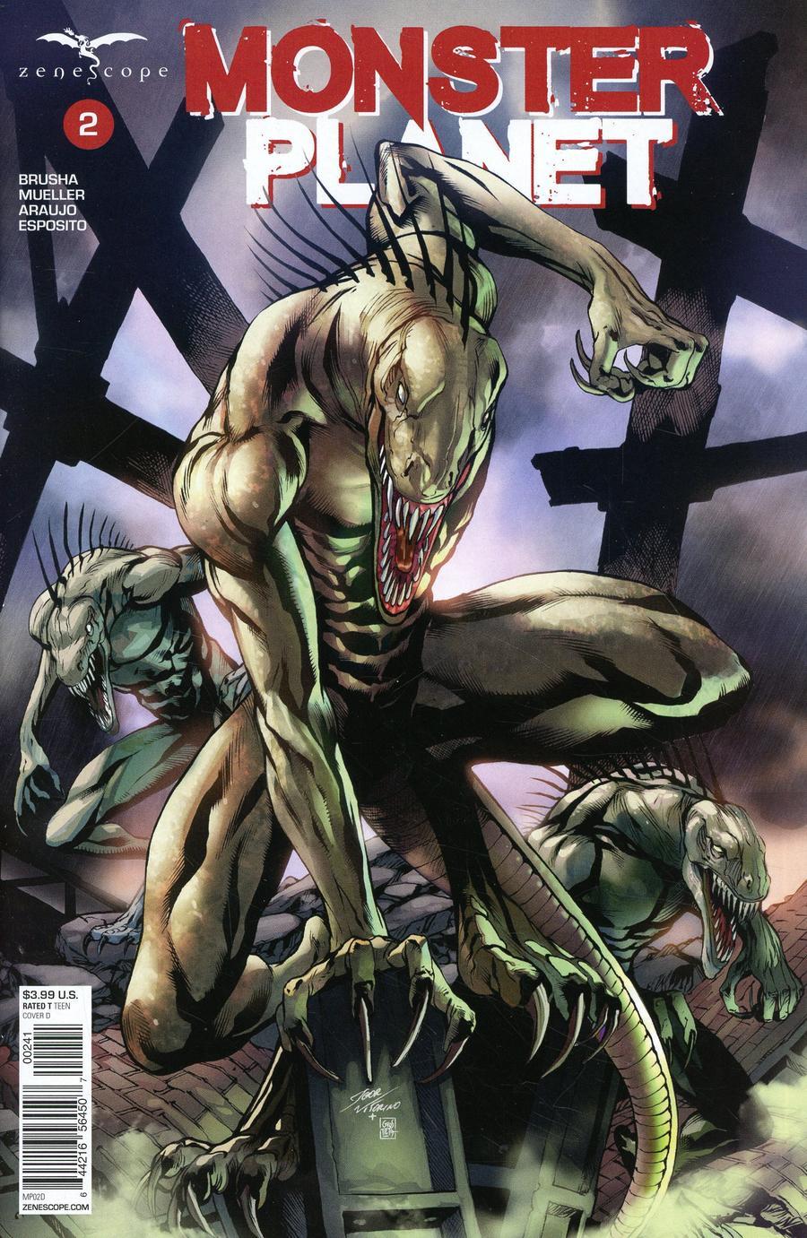 Monster Planet #2 Cover D Igor Vitorino