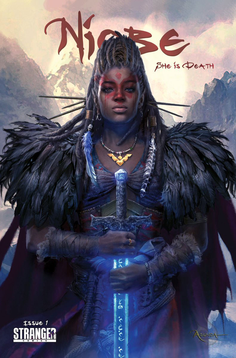Niobe She Is Death #1 Cover A 1st Ptg Regular Hyoung Taek Nam Cover
