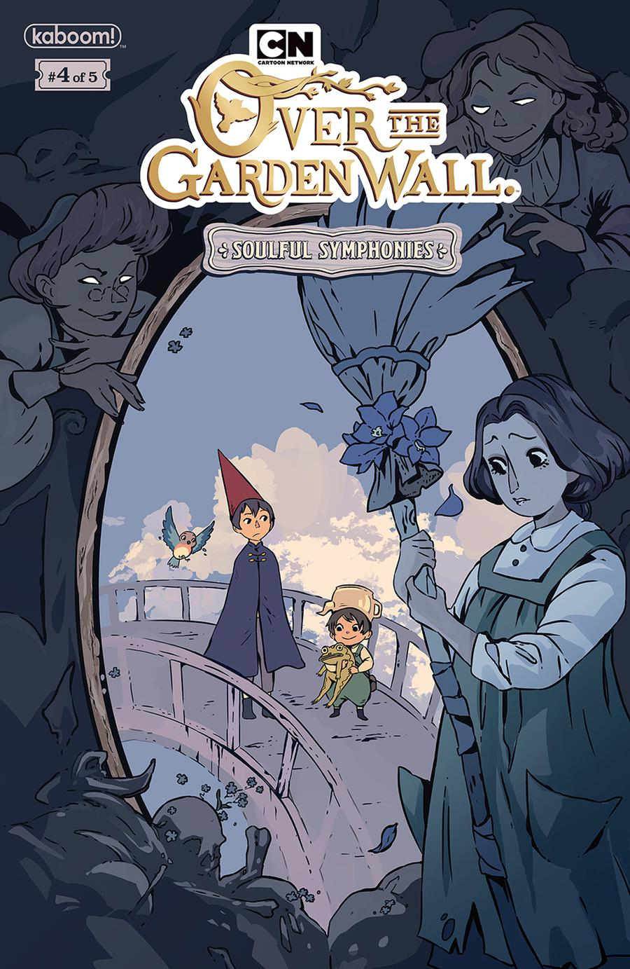 Over The Garden Wall Soulful Symphonies #4 Cover A Regular Keezy Young Cover