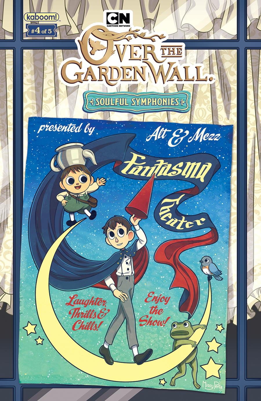 Over The Garden Wall Soulful Symphonies #4 Cover B Variant Missy Pena Preorder Cover