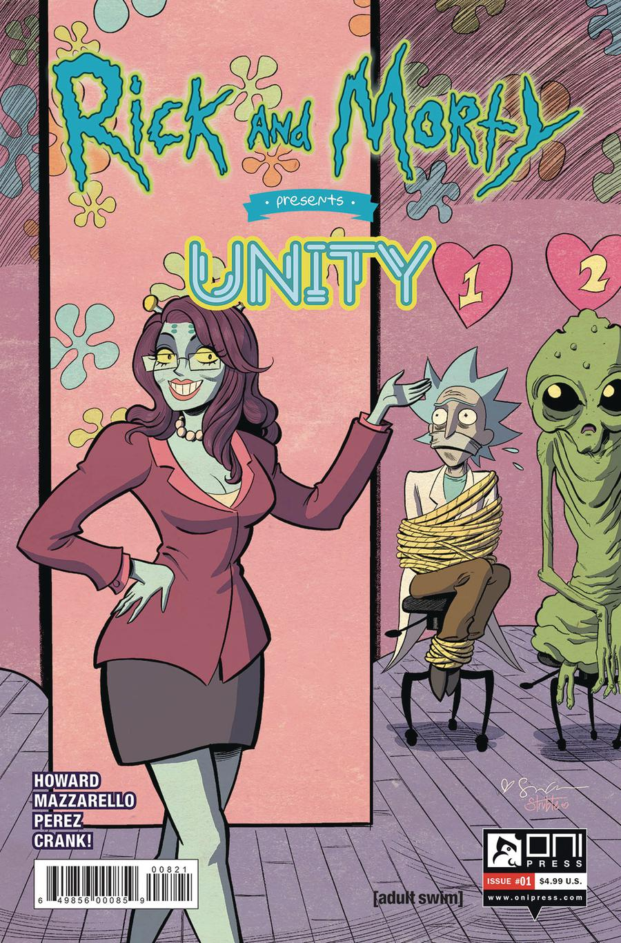 Rick And Morty Presents Unity #1 Cover B Variant Sina Grace Cover
