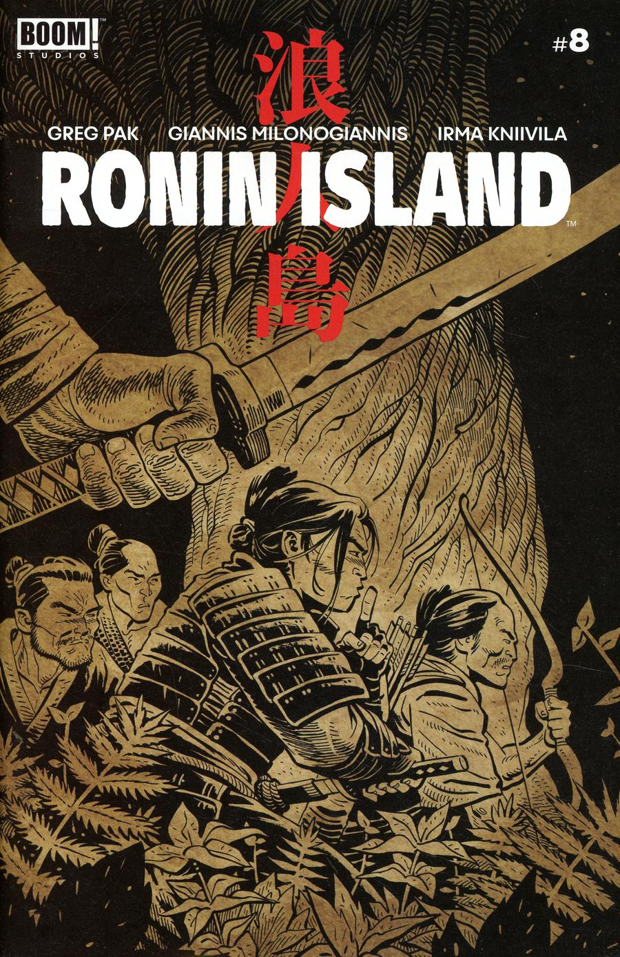 Ronin Island #8 Cover B Variant Ethan Young Preorder Cover