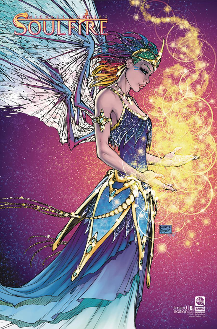 Soulfire Vol 6 #6 Cover C Variant Michael Turner Cover