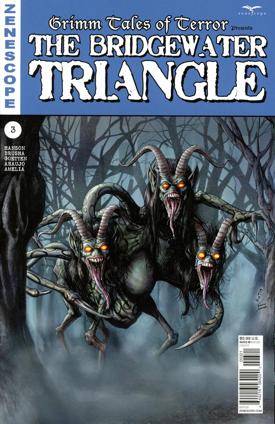 Grimm Tales Of Terror Presents Bridgewater Triangle #3 Cover B Eric J