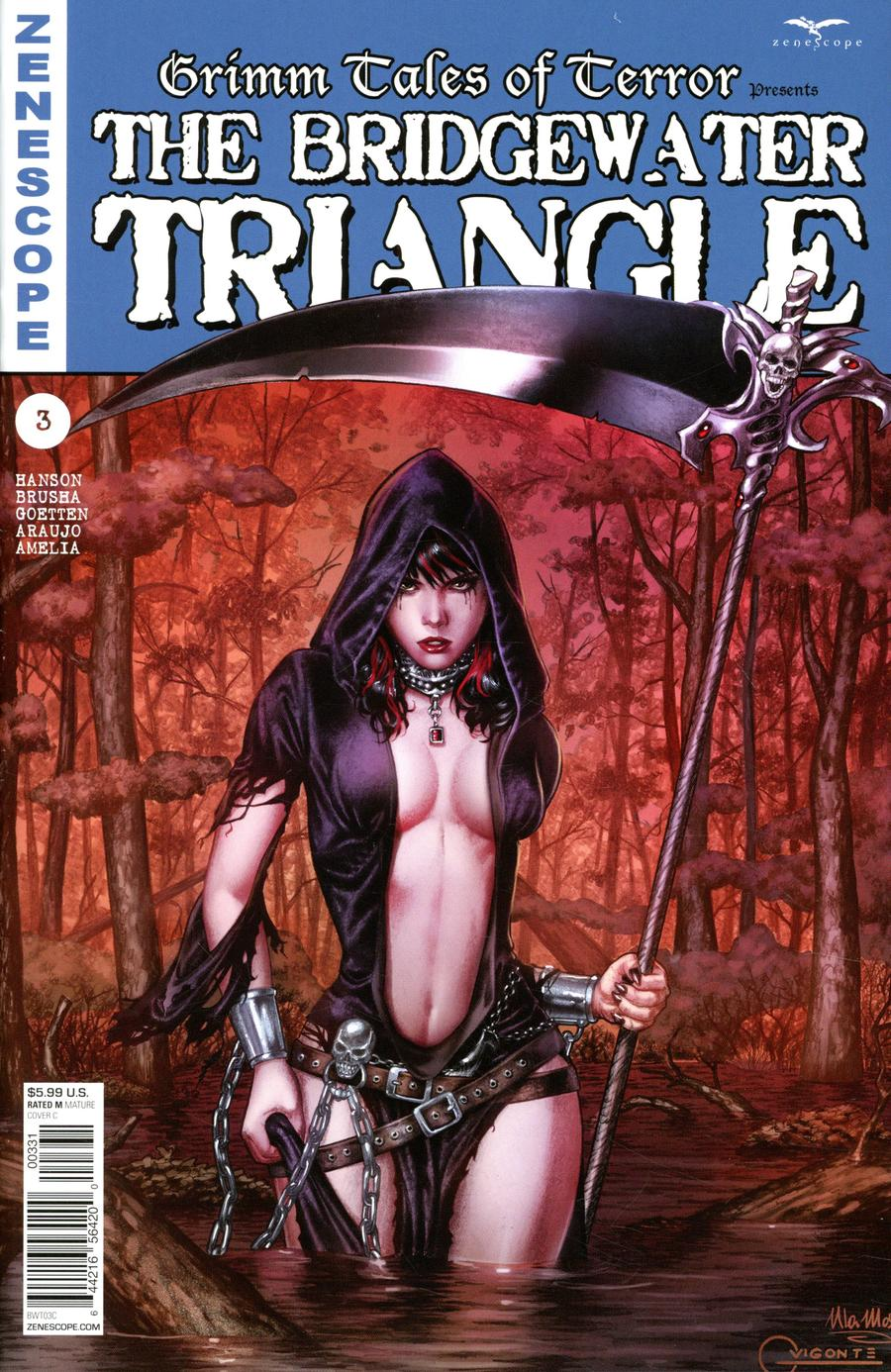 Grimm Tales Of Terror Presents Bridgewater Triangle #3 Cover C Geebo Vigonte