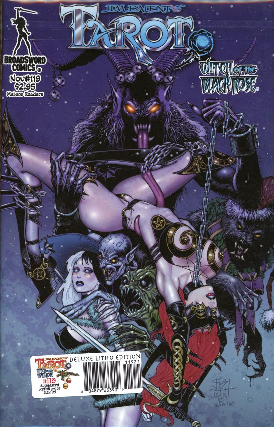 Tarot Witch Of The Black Rose #119 Cover D Deluxe Lithograph Edition