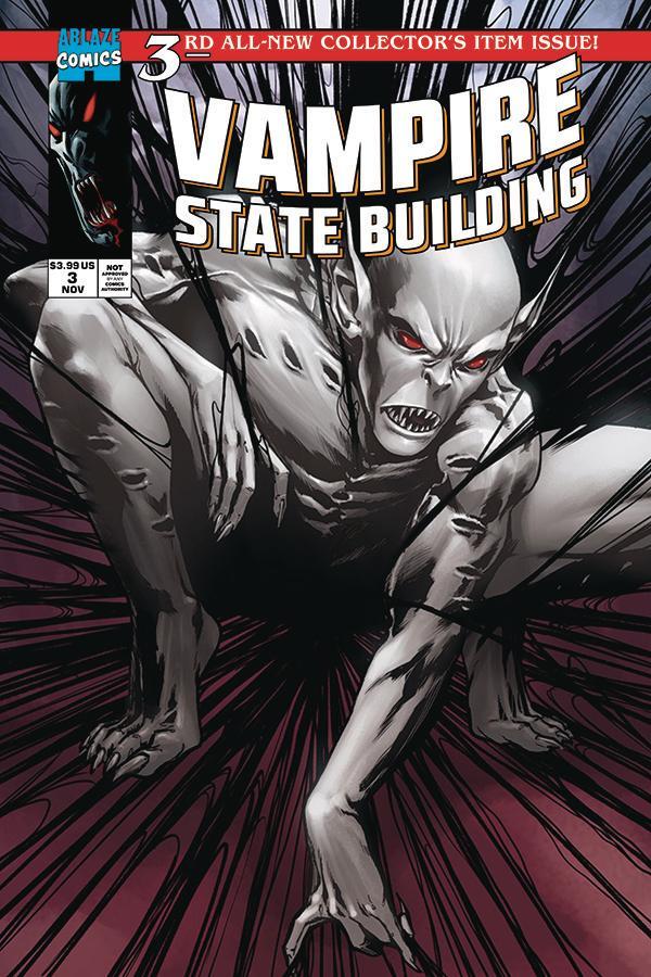 Vampire State Building #3 Cover C Variant Julius Ohta Parody Cover
