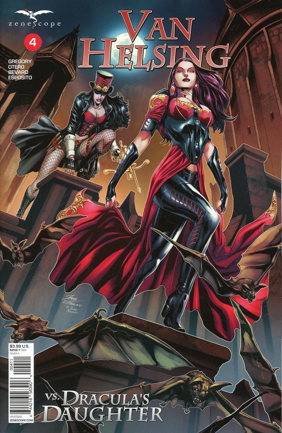 Grimm Fairy Tales Presents Van Helsing vs Draculas Daughter #4 Cover A Igor Vitorino