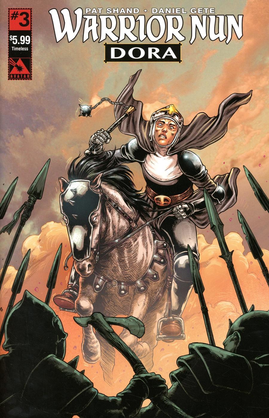 Warrior Nun Dora #3 Cover G Timeless Cover