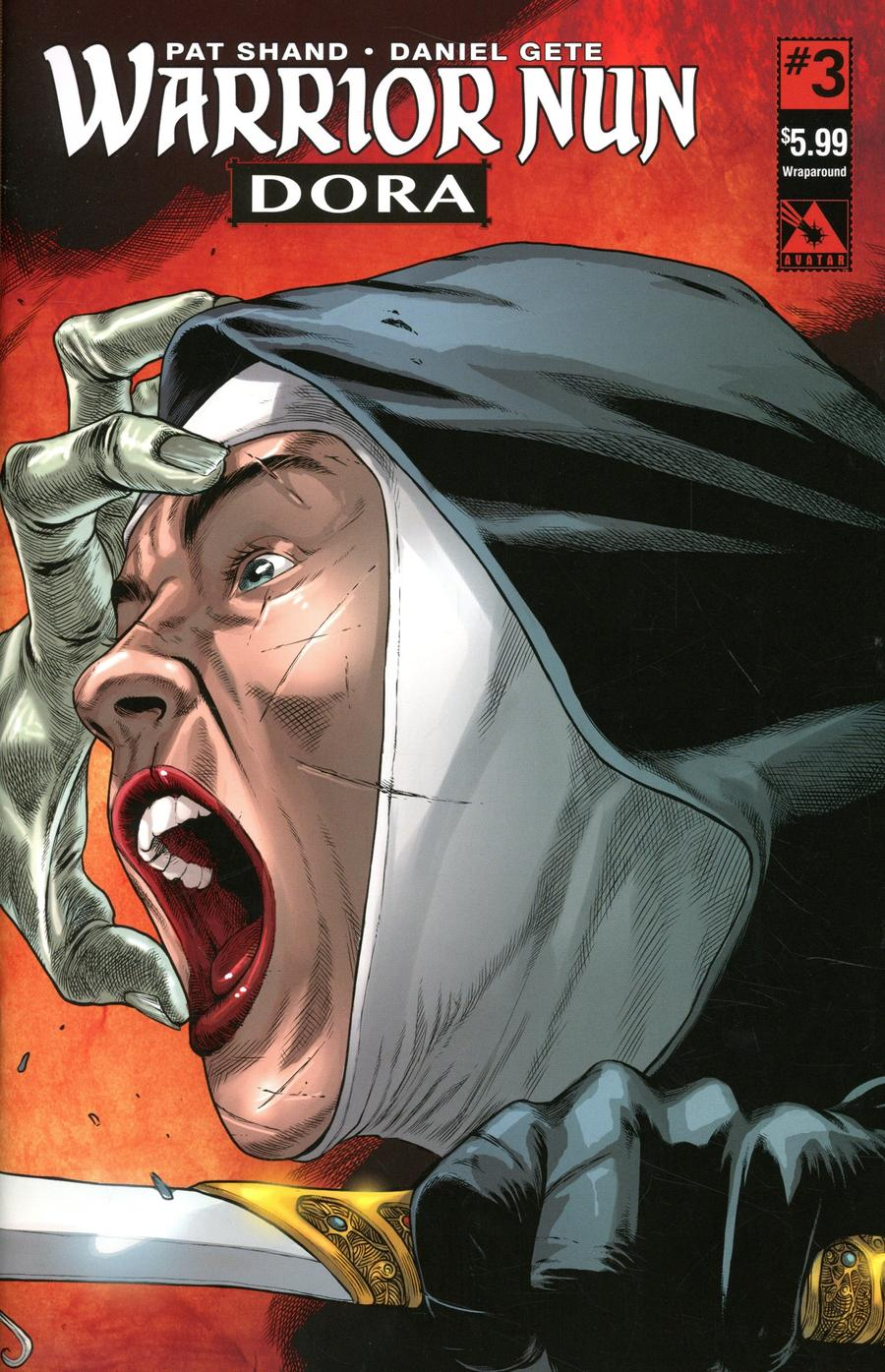 Warrior Nun Dora #3 Cover B Wraparound Cover