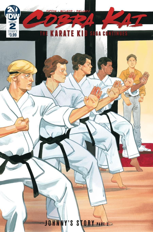 Cobra Kai Karate Kid Saga Continues #2 Cover A Regular Kagan McLeod Cover
