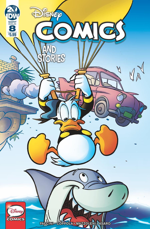 Disney Comics & Stories #8