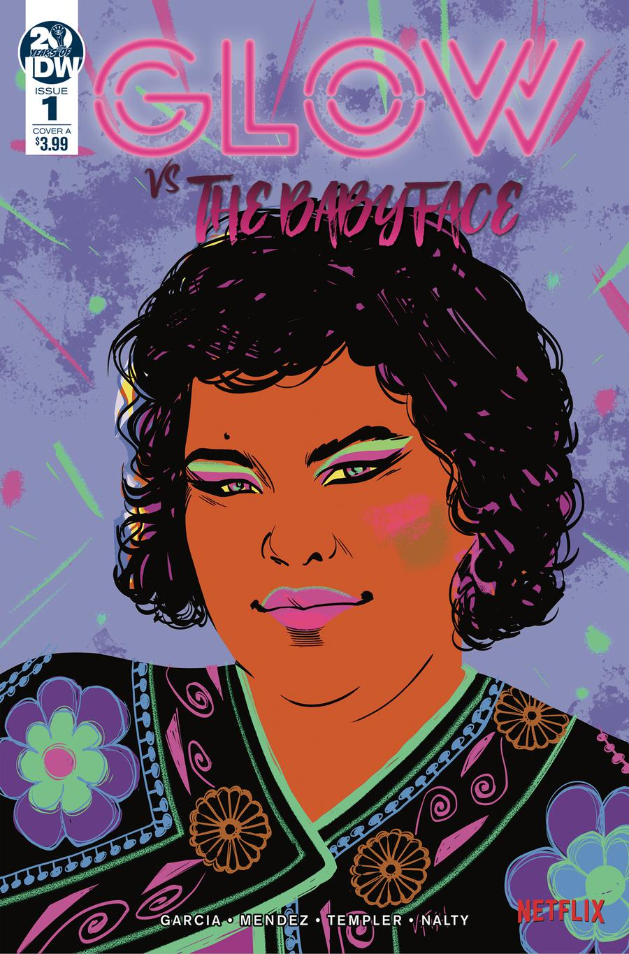 GLOW vs The Babyface #1 Cover A Regular Veronica Fish Cover