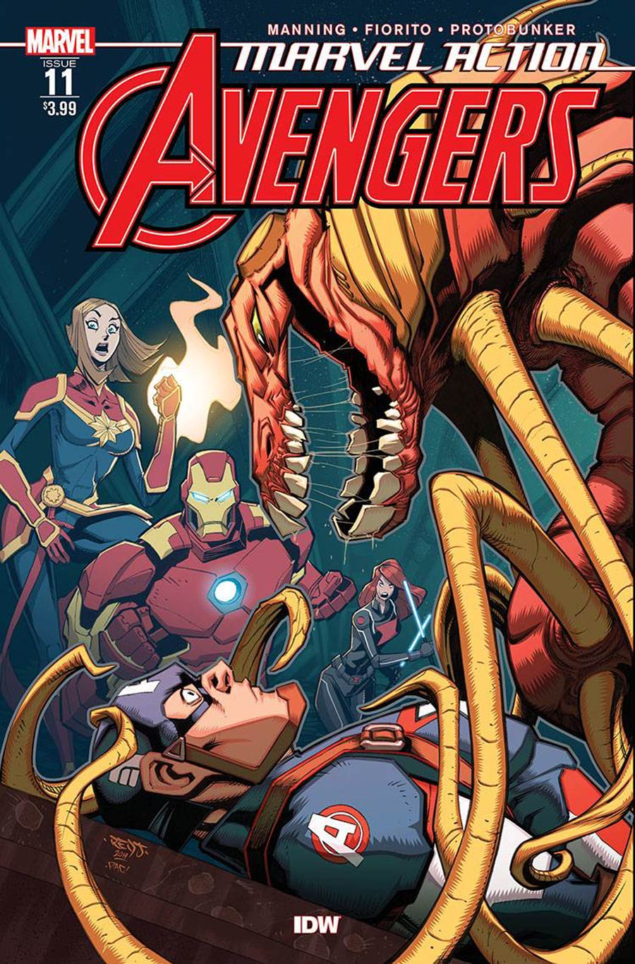 Marvel Action Avengers #11 Cover A Regular Marcio Fiorito Cover