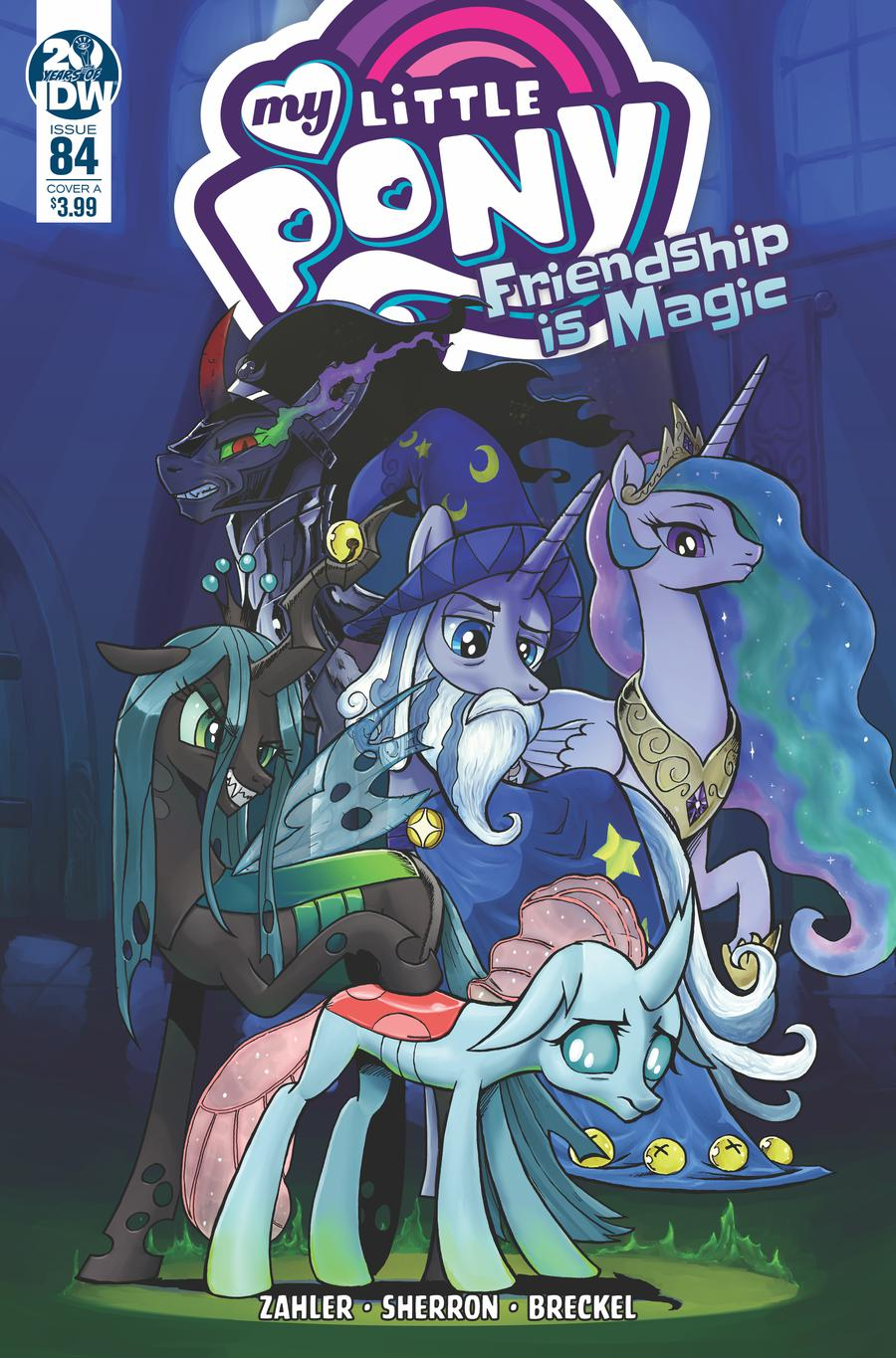 My Little Pony Friendship Is Magic #84 Cover A Regular Ian McGinty Cover