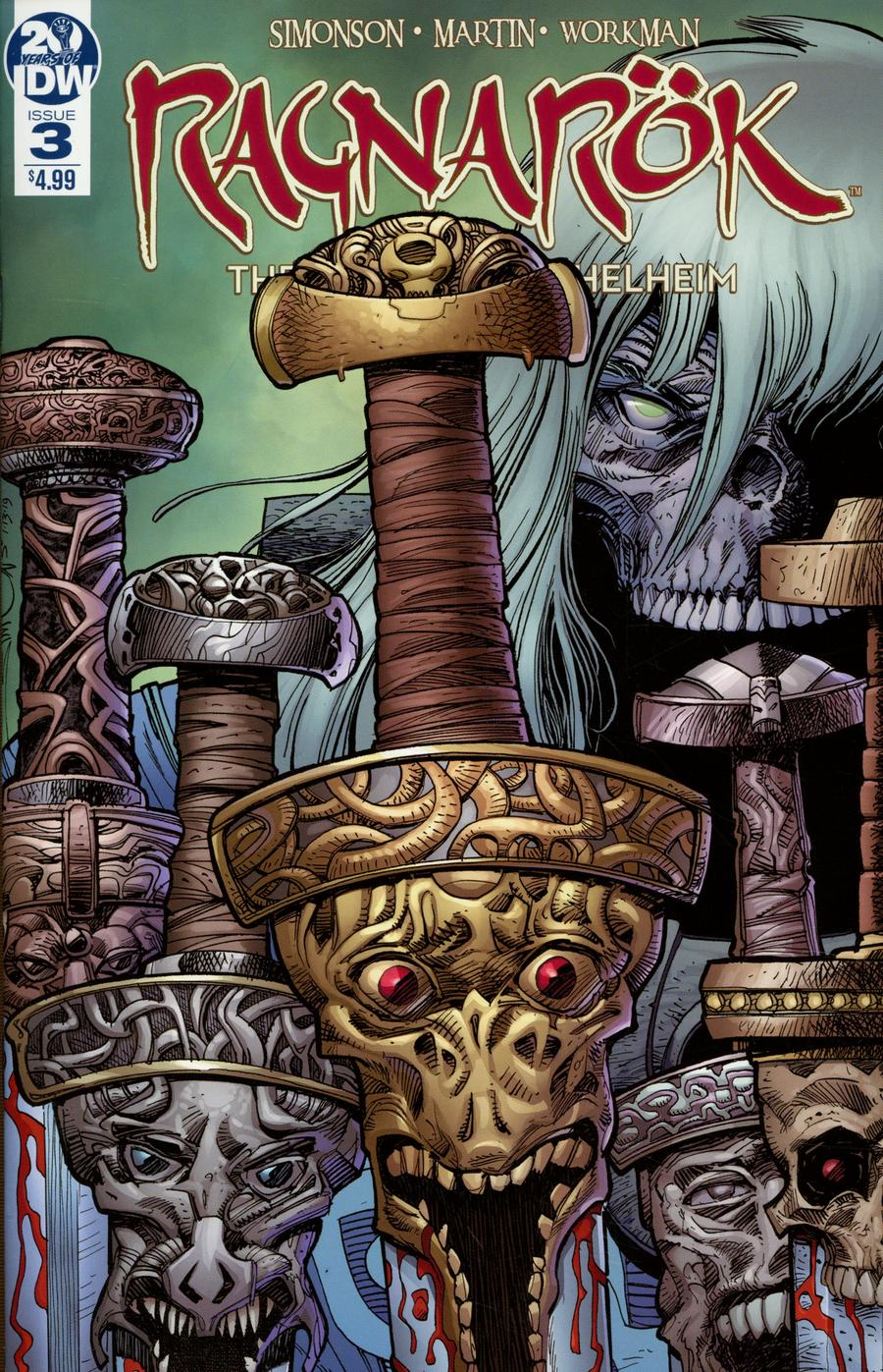 Ragnarok Breaking Of Helheim #3 Cover A Regular Walter Simonson Cover