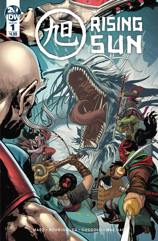 Rising Sun #1 Cover A Regular Martin Coccolo Cover