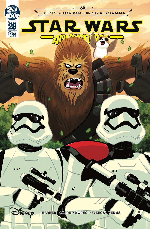 Star Wars Adventures #28 Cover A Regular Derek Charm Cover