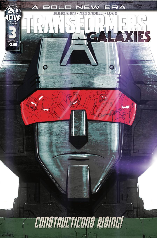 Transformers Galaxies #3 Cover A Regular Livio Ramondelli Cover