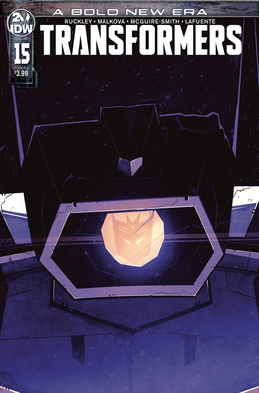 Transformers Vol 4 #15 Cover B Variant Josh Burcham Cover