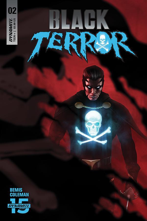 Black Terror Vol 4 #2 Cover A Regular Rahzzah Cover