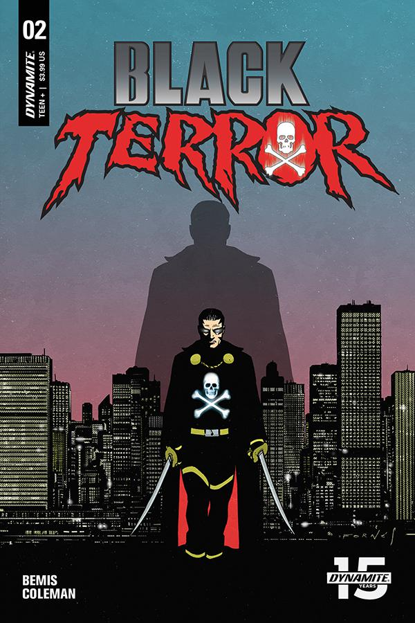 Black Terror Vol 4 #2 Cover B Variant Jorge Fornes Cover