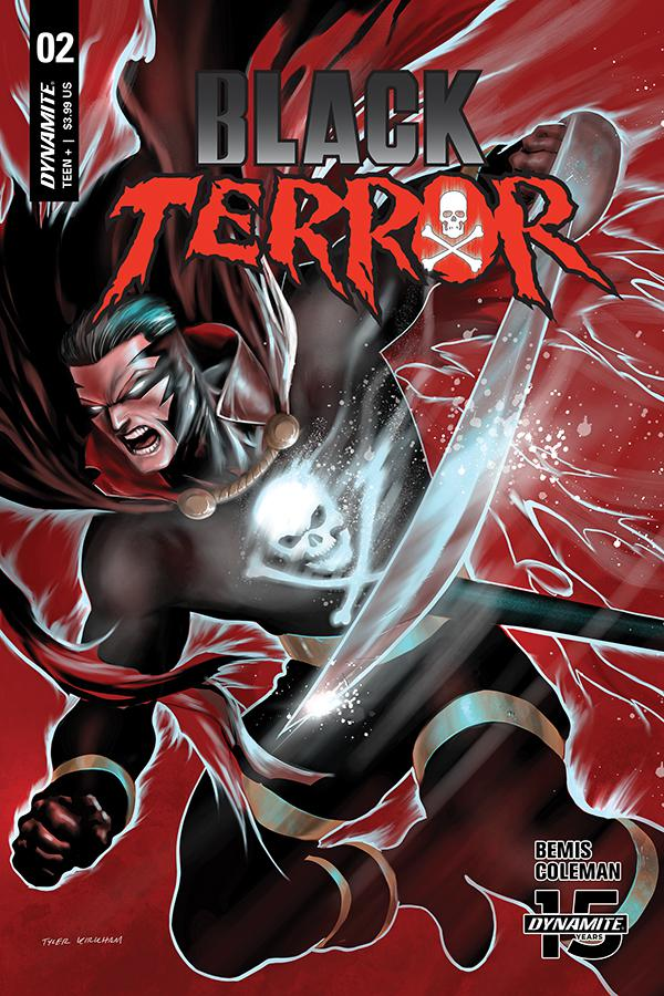 Black Terror Vol 4 #2 Cover C Variant Tyler Kirkham Cover